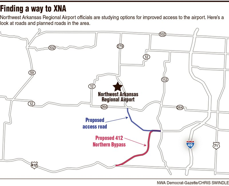 NW airport examines options for access road
