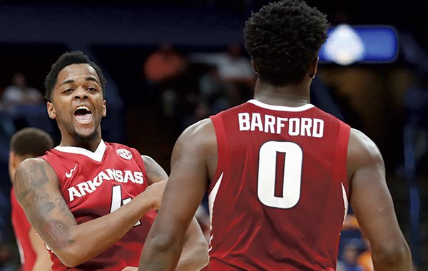 Former Arkansas guards Jaylen Barford and Daryl Macon will participate in one of the country's most prestigious senior showcases this week in Portsmouth, Va.