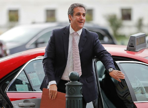 Records related to 'Access Hollywood' tape a focus of FBI Cohen raid