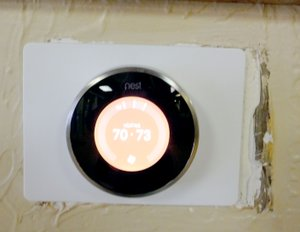 """The item in last week's paper is a thermostat. Linda Lloyd was the first person to correctly guess the answer. Look for another """"What is it?"""" in next week's edition -- and another chance to have your name entered in a monthly drawing for a free lunch."""