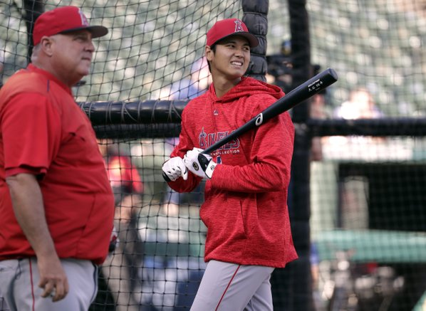 Ohtani hits 3-run triple in Angels' win over Royals