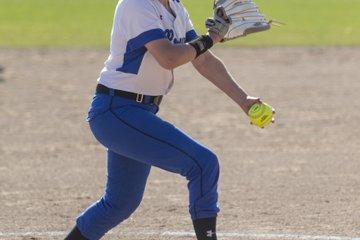 Sadie Beeman pitches ...