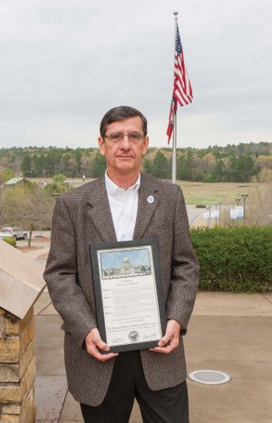 Howard Chapin IV of Heber Springs was recently honored with the Distinguished Citizens Award from the Heber Springs Area Chamber of Commerce. Chapin was a longtime banker in the area and was instrumental in helping get the Arkansas State University-Beebe Heber Springs Campus in the city.