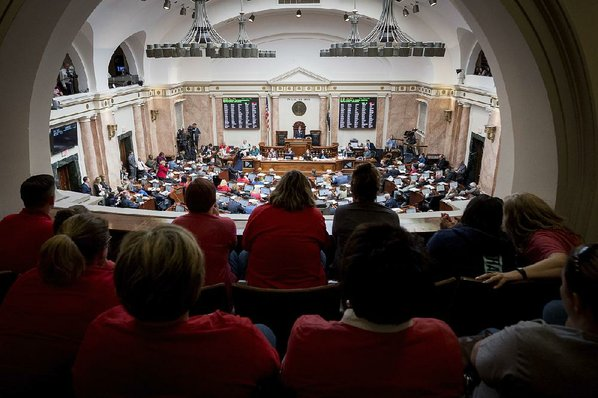 Teachers Plan to Protest Again in Frankfort Friday