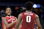 Jaylen Barford was named MVP of the Portsmouth Invitational Tournament in Portsmouth, Va., last weekend and Daryl Macon finished with a tournament-high 23 assists.