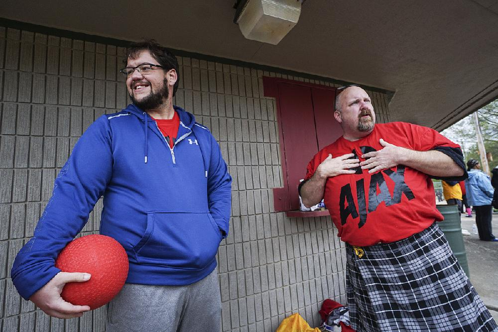 Little Rock kickballers remember slain teammate