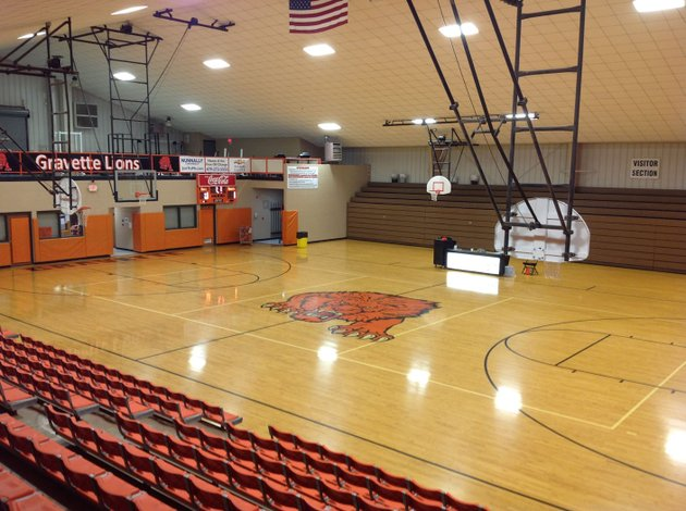 nwa-democrat-gazettedave-perozek-the-gymnasium-at-gravette-middle-school-is-seen-friday-it-serves-as-the-high-schools-competition-gym-gravette-school-district-officials-say-the-gym-built-in-1992-is-too-small-for-the-districts-current-needs-proceeds-from-a-25-mill-tax-request-on-the-may-22-ballot-would-pay-for-construction-of-a-gym-at-the-high-school-and-other-facility-improvements-if-voters-approve-the-request