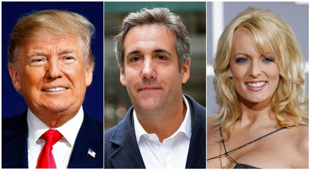 this-combination-photo-shows-from-left-president-donald-trump-attorney-michael-cohen-and-adult-film-actress-stormy-daniels