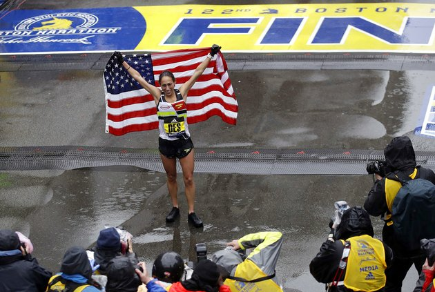 desiree-linden-of-washington-mich-celebrates-after-winning-the-womens-division-of-the-122nd-boston-marathon-on-monday-april-16-2018-in-boston
