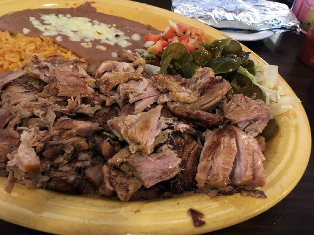 the-carnitas-at-cantina-cinco-de-mayo-are-tender-lean-and-come-in-a-huge-portion-with-rice-and-refried-beans