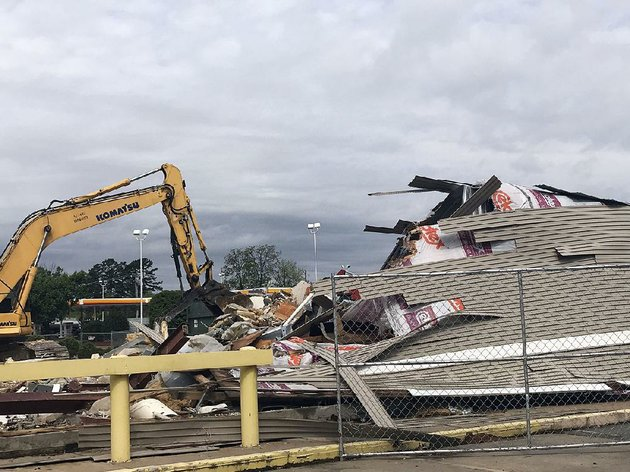 the-lubys-cafeteria-on-west-markham-street-near-chenal-parkway-was-demolished-last-week-to-make-room-for-a-new-west-little-rock-location-for-chilis