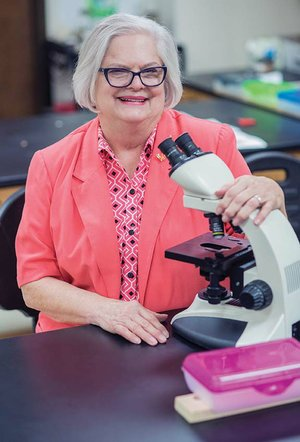 "Judy Gabbard, professor and chairwoman of the math and science department at Central Baptist College in Conway, was recognized for her 50-year tenure on campus. She has no immediate plans to retire. ""This is my ministry,"" she said. ""I love, love, love students."""