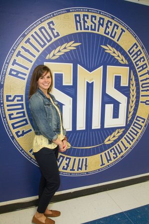 Kayla Turner, the current instructional facilitator for Southside Middle School, was recently hired to be the new principal at the school, replacing Dion Stevens, who was promoted to assistant superintendent of the district. Turner has worked at Southside for six years.