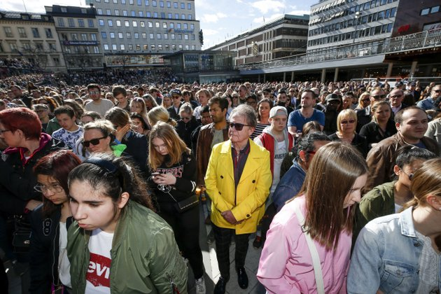 fans-of-dj-avicii-gather-for-a-minutes-silence-in-his-honour-at-sergels-torg-in-central-stockholm-sweden-saturday-april-21-2018-avicii-the-grammy-nominated-electronic-dance-dj-who-performed-sold-out-concerts-for-feverish-fans-around-the-world-and-also-had-massive-success-on-us-pop-radio-died-friday-he-was-28-fredrik-perssontt-new-agency-via-ap