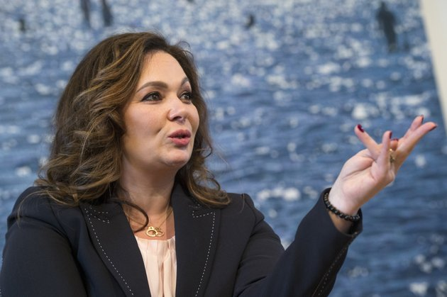 russian-lawyer-natalia-veselnitskaya-speaks-during-an-interview-with-the-associated-press-in-moscow-russia-sunday-april-22-2018-veselnitskaya-who-discussed-sanctions-with-donald-trump-jr-in-new-york-during-the-2016-campaign-told-the-associated-press-in-an-interview-that-she-has-not-been-contacted-by-special-counsel-robert-mueller-and-alleged-that-he-was-not-interested-in-getting-to-the-truth-ap-photodmitry-serebryakov