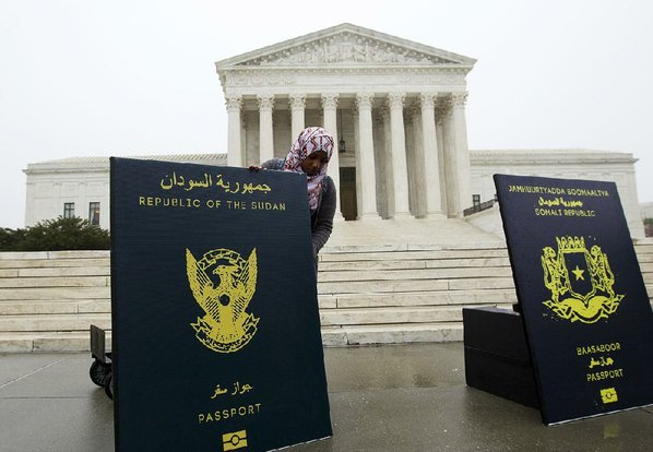 Supreme Court Hears Oral Arguments On Trump Travel Ban