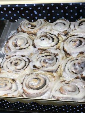 Cinnamon rolls are the stars at Little Rock's Cinnamon Creme Bakery.