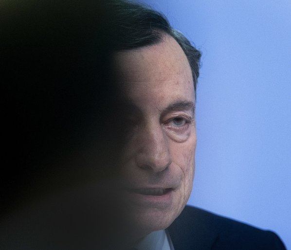 Draghi hails 'solid' growth as European Central Bank  keeps policy on hold