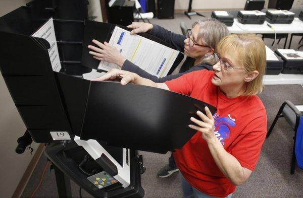 Vote Changes Keeping Northwest Arkansas Election Officials