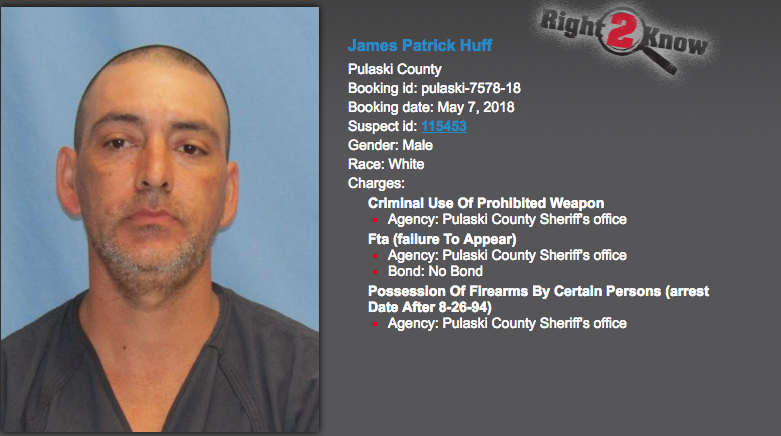 PHOTOS: Pulaski County man arrested after 16 homemade bombs