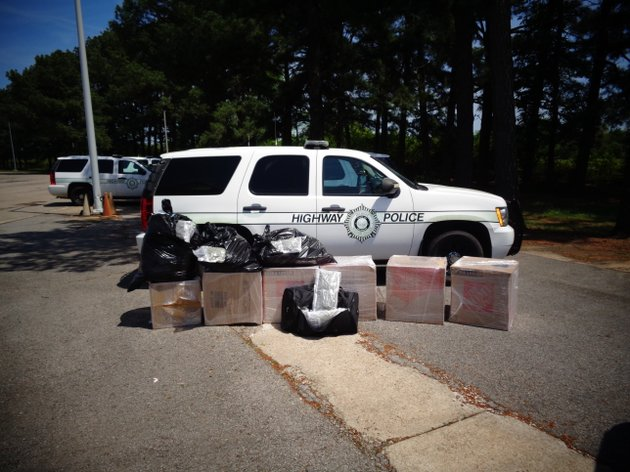 authorities-seize-200-pounds-of-marijuana-after-stopping-a-tractor-trailer-sunday-may-6-2018-at-the-alma-weigh-station