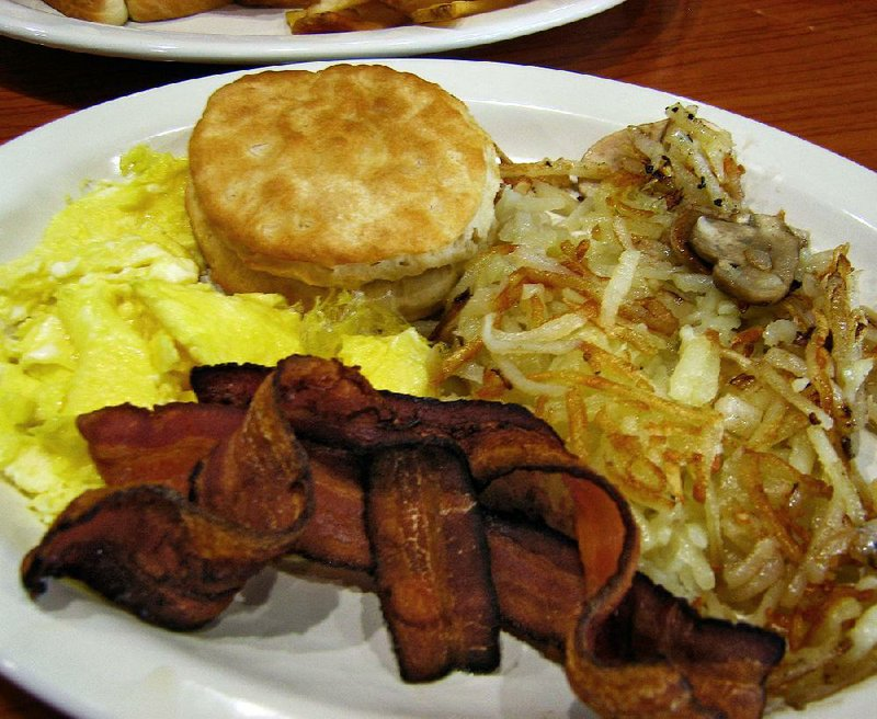 Restaurant Review Breakfast Success At Cheery Arkansas Cafe