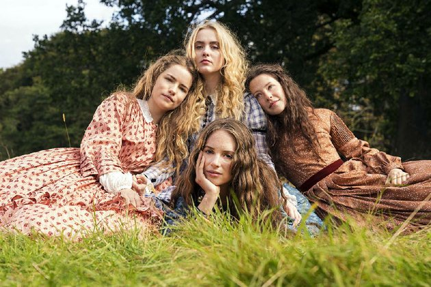 little-women-stars-clockwise-from-top-left-willa-fitzgerald-as-meg-kathryn-newton-as-amy-annes-elwy-as-beth-and-maya-hawke-as-jo-the-two-part-series-kicks-off-at-7-pm-today-on-aetn