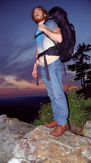 Backpacking, hiking and camping are among the many outdoor recreation activities enjoyed by wildlife-management-area visitors like Zach Sutton of Alexander.