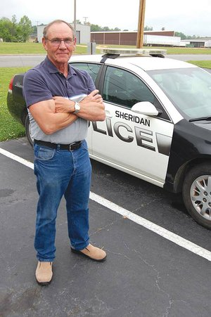 Sheridan Police Chief Bob Adams will retire from his position July 21. He said he looks forward to spending more time with his grandchildren and going fishing. He has worked in law enforcement since 1967.