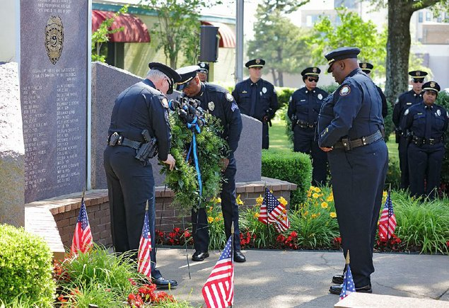 Fly flags at half staff May 15, National Peace Officers Memorial Day