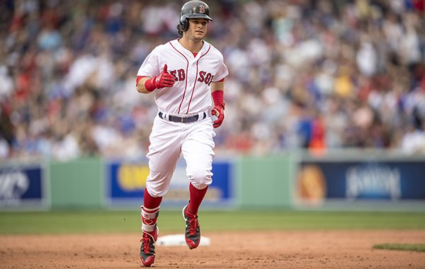 Boston Red Sox outfielder Andrew Benintendi was second in AL Rookie of the Year voting in 2017.