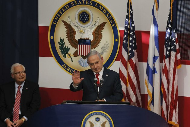 israeli-prime-minister-benjamin-netanyahu-delivers-a-speech-monday-at-the-opening-ceremony-for-the-us-embassy-in-jerusalem