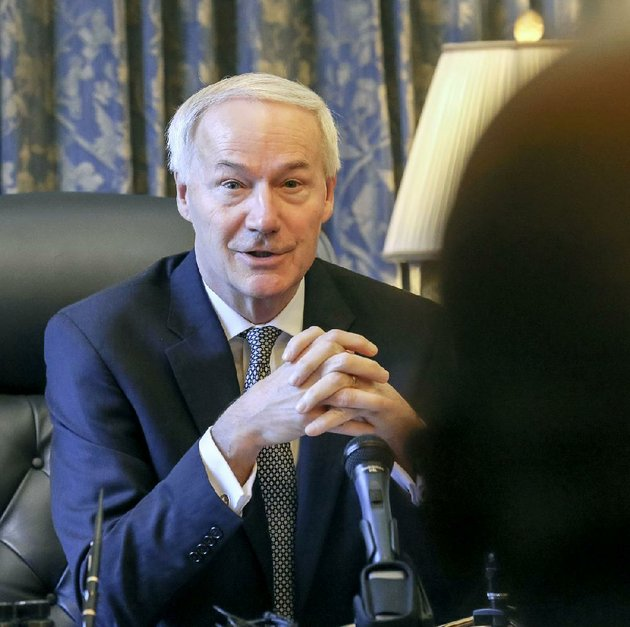 governor-asa-hutchinson-is-shown-in-this-photo