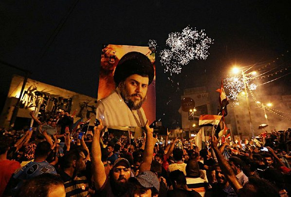 Iranian media react to populist cleric's victory in Iraq elections
