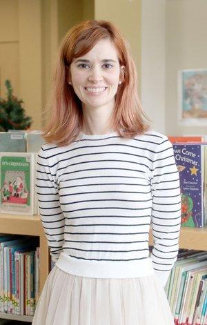 LYNN KUTTER ENTERPRISE-LEADER Leandra Kapity of Lincoln is children's librarian for Lincoln Public Library.