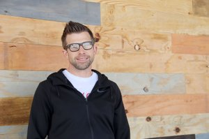 LYNN KUTTER ENTERPRISE-LEADER Jeremy Woody is campus director for Brand New Church in Farmington. His full-time job is with Hill Electric. The church is making plans to move into its new facility, the former Oops! and Marvin's IGA grocery store on Main Street in Farmington.