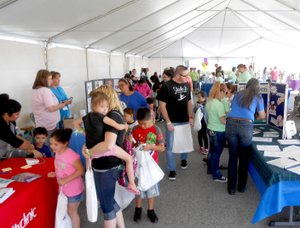 More than 30 vendors from Arkansas and Oklahoma took part in the health expo.