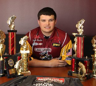 The Sentinel-Record/Richard Rasmussen ALL-AMERICAN: Lake Hamilton sophomore Karson Hamilton was recently among 12 anglers selected for the Bassmaster High School All-American Fishing Team. The 12 All-Americans will compete in their own tournament this week in conjunction with the 2018 Toyota Bassmaster Texas Fest at Lake Travis out of Jonestown, Texas.