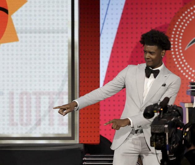 phoenix-suns-forward-josh-jackson-reacts-after-the-team-won-the-first-pick-of-the-2018-nba-draft-during-the-nba-basketball-draft-lottery-tuesday-may-15-2018-in-chicago-ap-photocharles-rex-arbogast