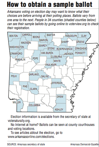 Arkansas voters to select party nominees at polls Tuesday ...