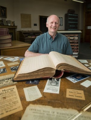 """""""As a local historian, his contribution and legacy is of great importance … I remind him often that 100 years from now, his books will be used like we today use W.S. Campbell's 1928 One Hundred Years of Fayetteville and Kent Brown's 1982 Fayetteville: A Pictorial History.""""  — J.B. Hogan"""