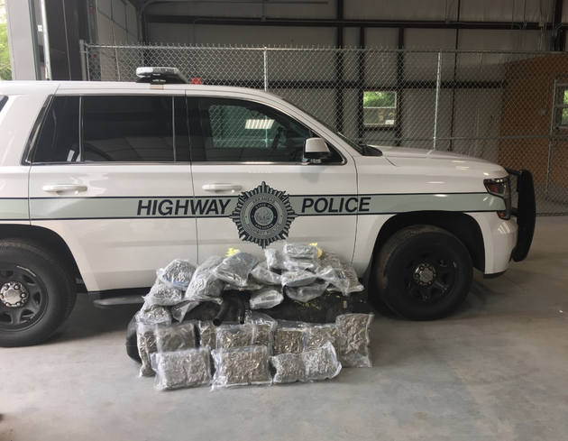 arkansas-highway-police-seized-30-pounds-of-marijuana-found-hidden-in-a-pickup-that-was-being-hauled-on-i-40-in-arkansas-authorities-said