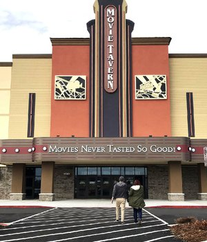 Starring at Little Rock's Movie Tavern is a new menu.
