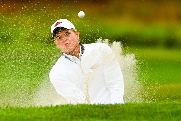 Arkansas sophomore Mason Overstreet finished second at the NCAA Championships in 2017.