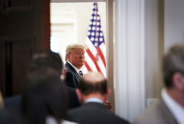 president-donald-trump-heads-to-the-oval-office-on-thursday-after-commenting-on-the-cancellation-of-the-summit-with-north-korea-calling-it-a-tremendous-setback-for-north-korea-and-indeed-a-setback-for-the-world