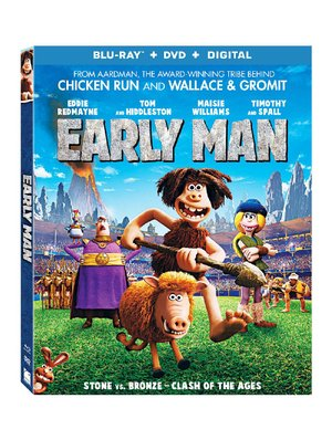 Early Man Blu-Ray case