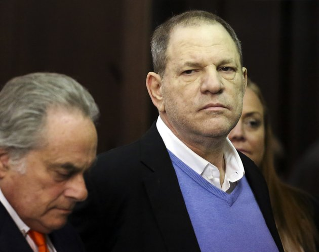 harvey-weinstein-right-appears-at-his-arraignment-with-his-lawyer-benjamin-brafman-in-manhattan-criminal-court-on-friday-may-25-2018-in-new-york-weinstein-is-charged-with-two-counts-of-rape-and-one-count-of-criminal-sexual-act-he-was-released-on-1-million-dollars-bail-jefferson-siegelnew-york-daily-news-via-ap-pool
