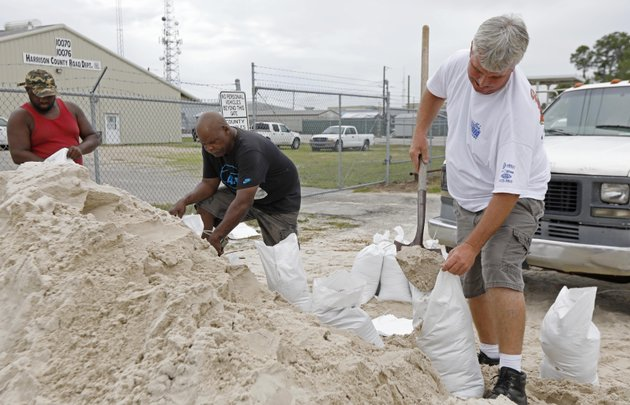 gulfport-miss-residents-shovel-sand-into-bags-at-a-harrison-county-road-department-sand-bagging-location-while-preparing-for-subtropical-storm-alberto-to-make-its-way-through-the-gulf-of-mexico-saturday-may-26-2018-the-slow-moving-storm-is-threatening-to-bring-heavy-rainfall-storm-surges-high-wind-and-flash-flooding-this-holiday-weekend-ap-photorogelio-v-solis