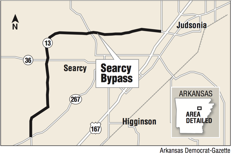 Searcy cheers finished bypass