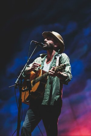 """Ray LaMontagne performs with """"special guest"""" Neko Case on Tuesday at the Walmart AMP in Rogers."""